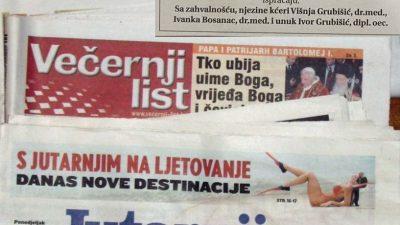 Objave o smrti u novinama